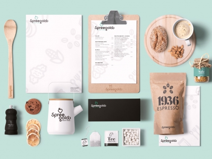 Spreegold – Corporate Design